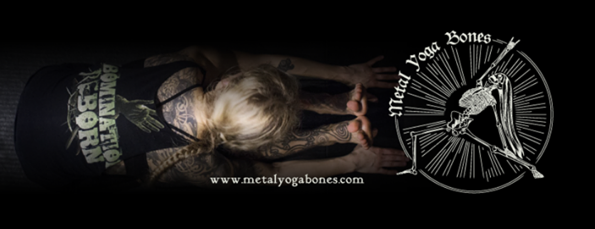 Metal Yoga Bones